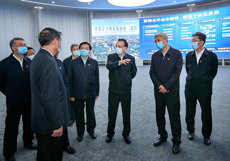 李克强考察郑州中原科技城:创新突破一定要在科学基础方面打好基础